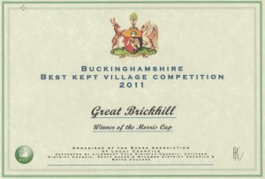 Best Kept Village Certificate